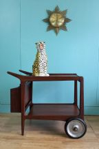 Mid century teak trolley - SOLD